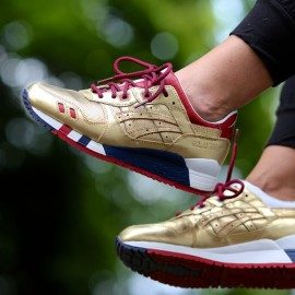 "Ronnie Fieg x Asics Gel Lyte III ""USA"" – Golden Boy"
