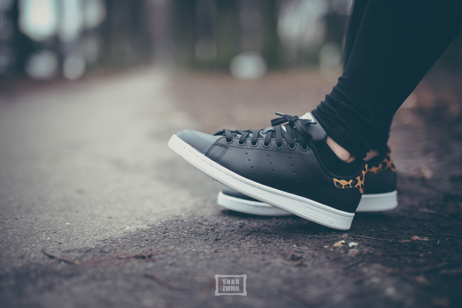 Stan Smith Schwarz Leo