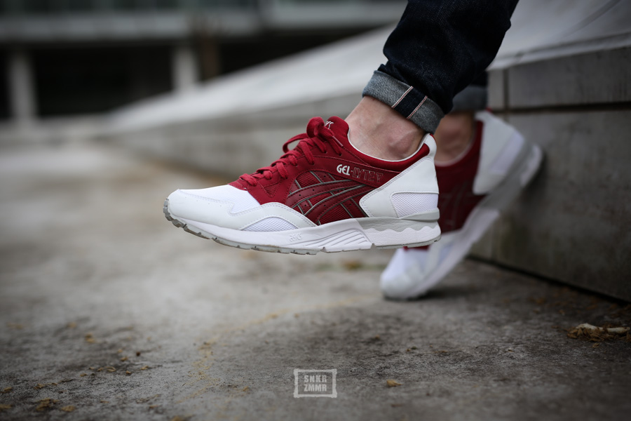 asics gel lyte v on feet