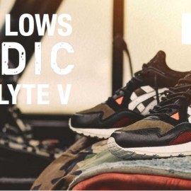 """Highs and Lows x Asics Gel-Lyte V """"Medic"""" – Win your Pair!"""