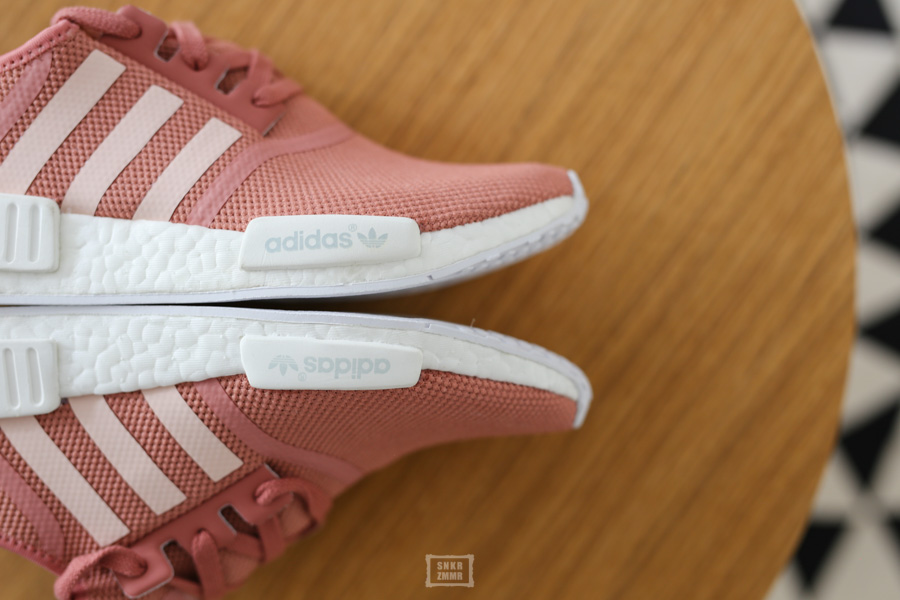 sneaker adidas nmd r1 raw pink ein echter. Black Bedroom Furniture Sets. Home Design Ideas