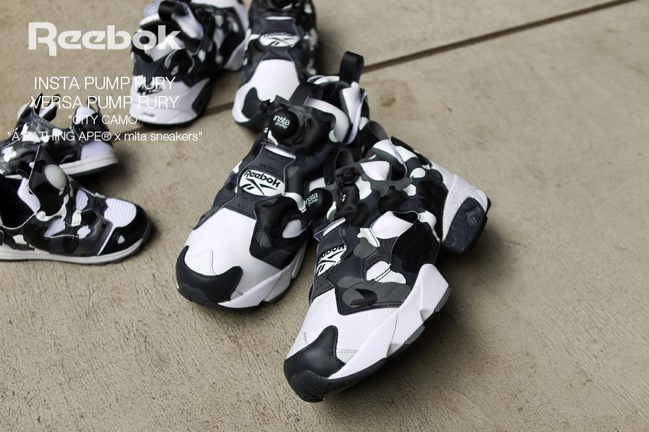 "super cute 79480 433f7 So erscheint der mita Sneakers x Bape x Reebok ""City Camo"" am Samstag  zunächst bei mita bzw. direkt bei Bape(internationaler Versand ..."