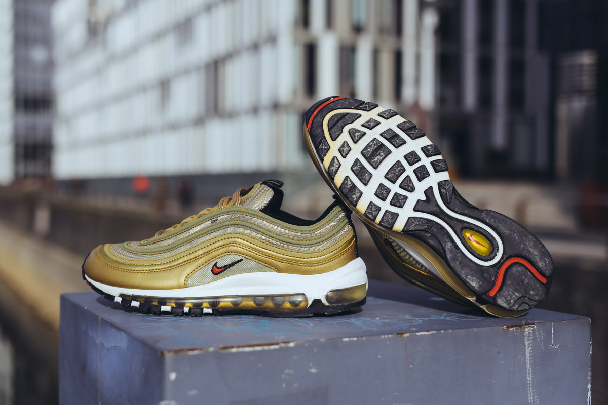 greece nike air max 97 mens grey gold 7217c d8fbf