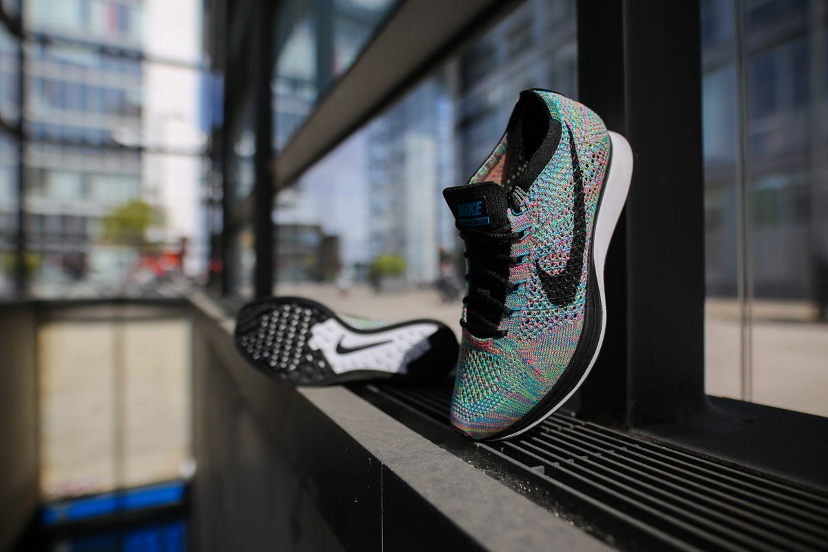 premium selection fea0d 6bfbc nike flyknit racer queensway