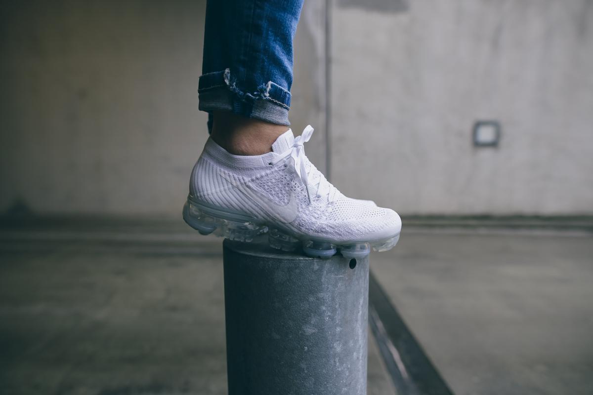 Nike Vapormax All White-10