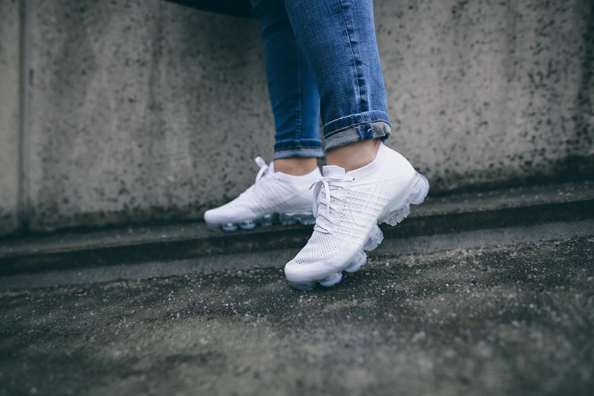 Nike Vapormax All White-7