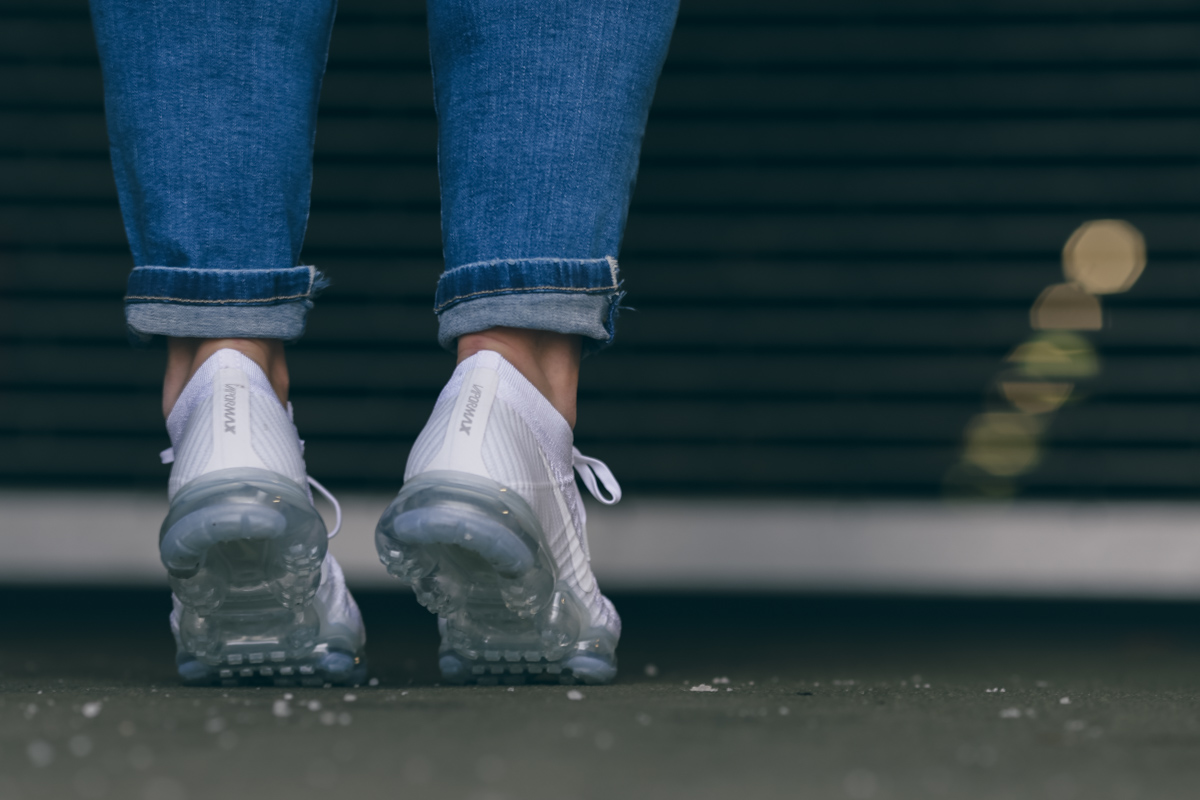 Nike Vapormax All White