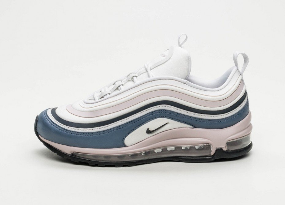 sneaker nike wmns air max 97 ultra 39 17 vast grey obsidian particle rose. Black Bedroom Furniture Sets. Home Design Ideas