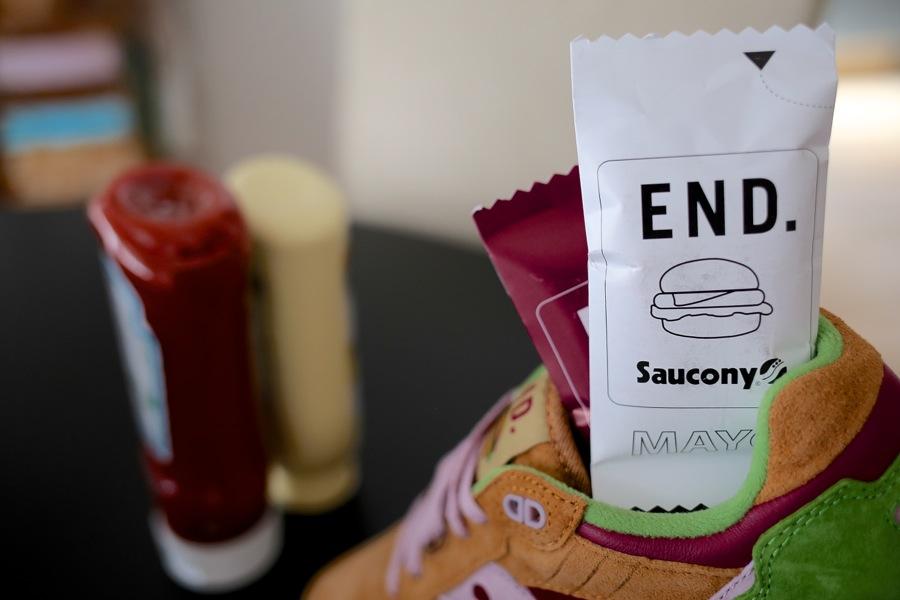 Saucony x END