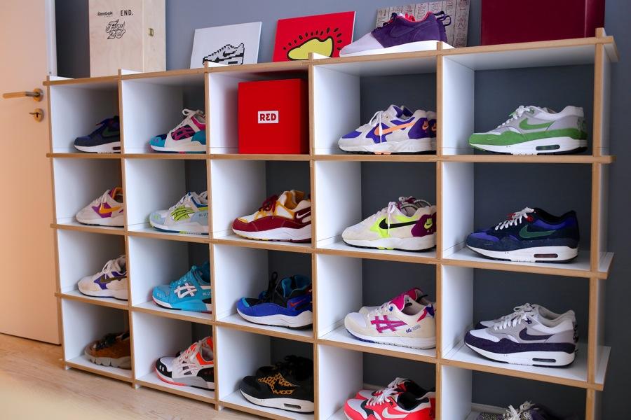 Beliebt Sneaker-Zimmer.de | Regale von Steckwerk – Die Galerie für's AQ19