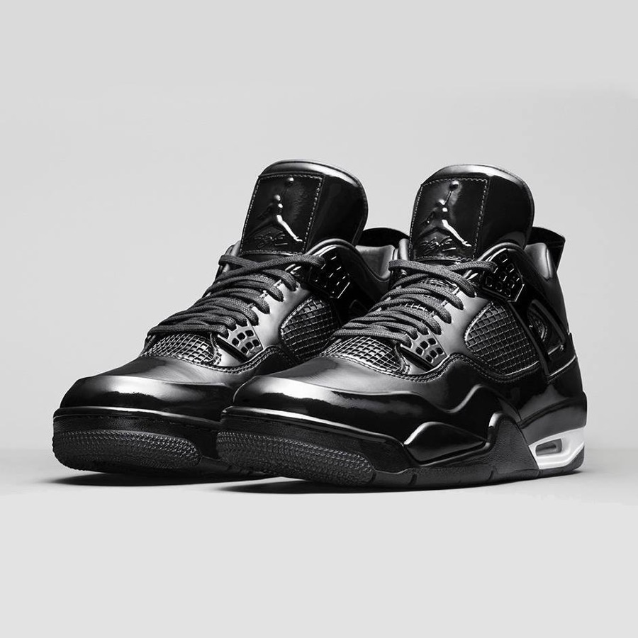 sale retailer 95d9f 65f32 Am Samstag folgt dann mit dem Air Jordan 11LAB4 ein ebenfalls im Vorfeld  schon sehr gehypter Jordan-Hybrid. Das vom XIer bekannte, glänzende Patent  Leather ...