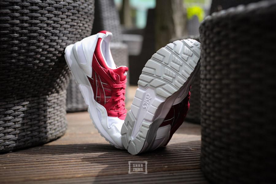 "pretty nice ddd40 9e0a8 Sneaker-Zimmer.de | Asics Gel-Lyte V ""Burgundy"" – Foot ..."