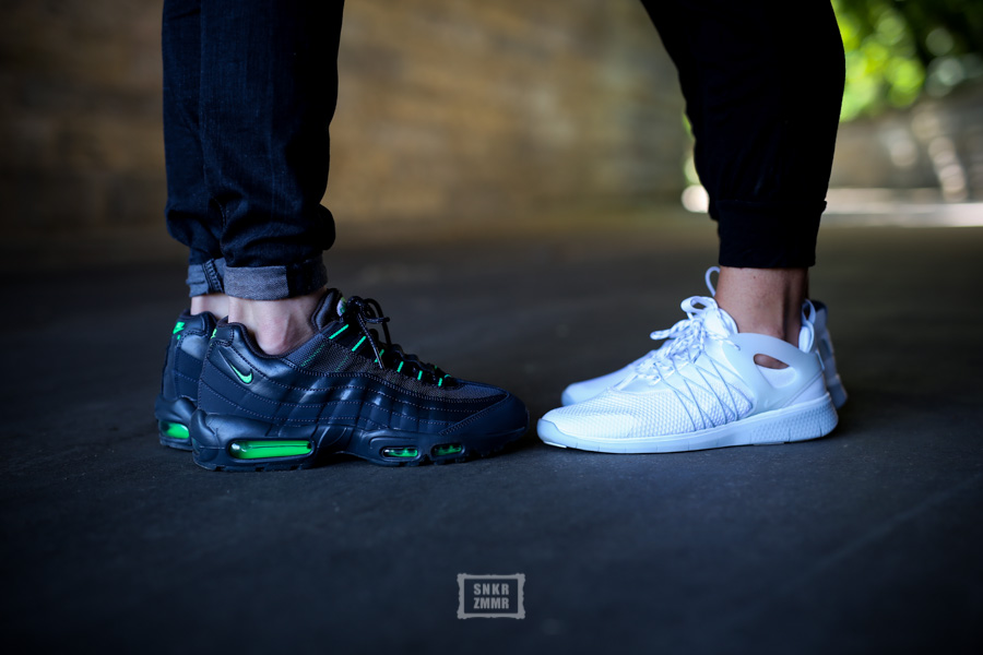 best sneakers 93e24 a01d4 07 Jun Wmns Free Viritous   Air Max 95 – Nike-Doppel für Sie   Ihn