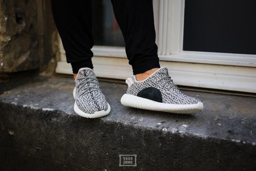Sneaker Zimmerde Adidas Yeezy 350 Boost Looking
