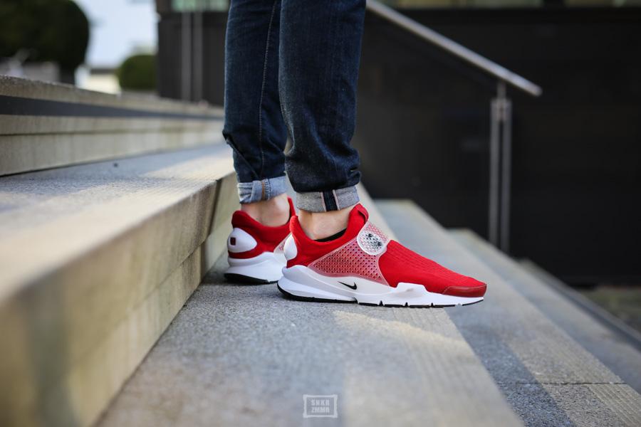 Sock Dart Gym Red-4
