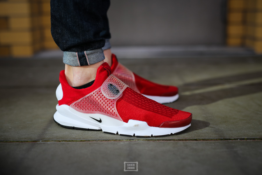 Sock Dart Gym Red-6