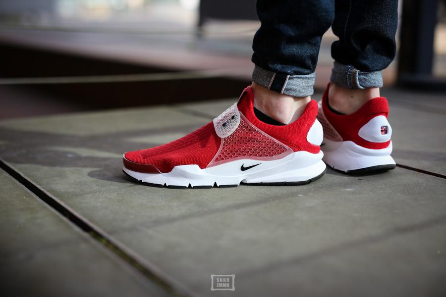 Sock Dart Gym Red-7