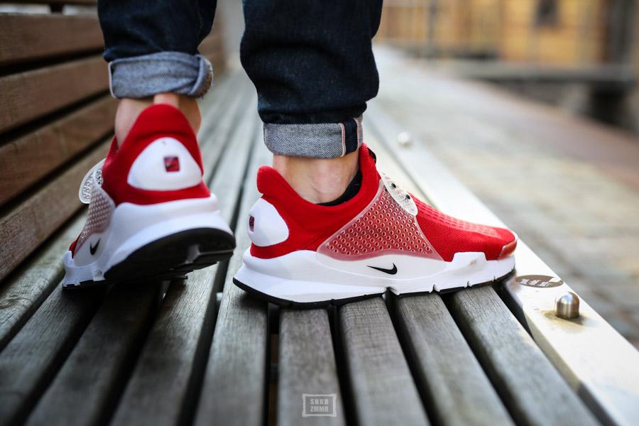 Sock Dart Gym Red-9