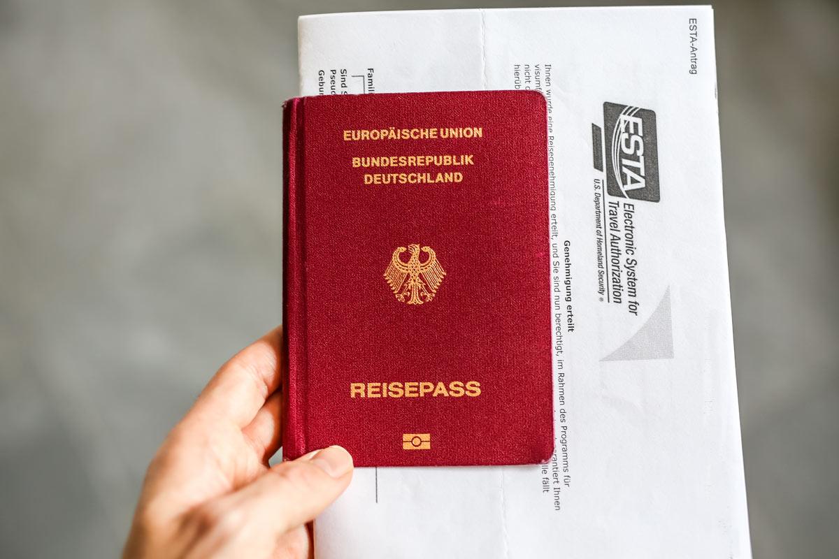Reisepass aktuell? ESTA beantragt?