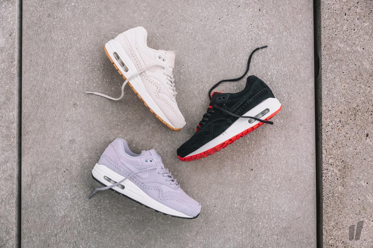 new style 95df5 e5fcb Ab Freitag warten die drei Wmns Air Max 1 Premium sowohl bei Nike als auch  bei TGWO und Overkill auf potenzielle Käuferinnen.