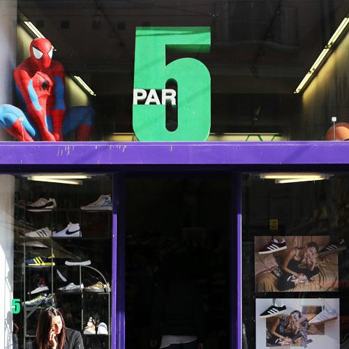 5 Paar