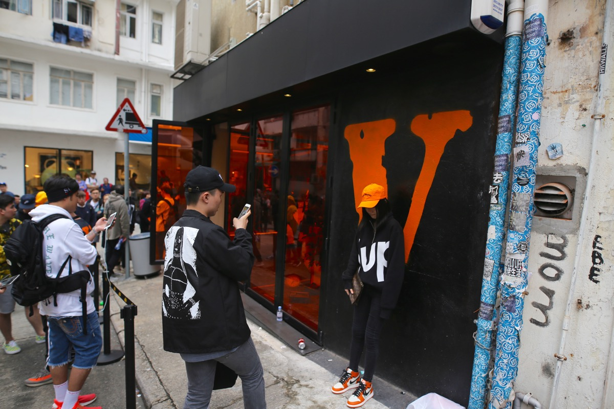 VLONE Pop Up
