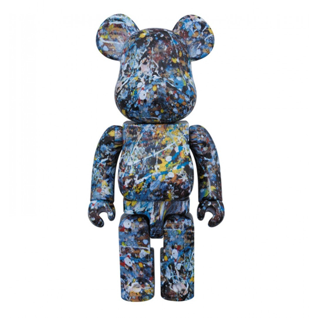 medicom-1000-jackson-pollock-studio-water-print-version-beatrbrick-toy-blue-kkmd1000pollocks
