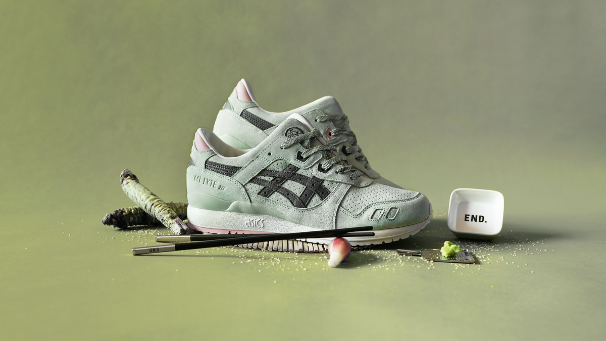 ASICS GEL Lyte V Trainers Light Olive,CHF97,51,AS
