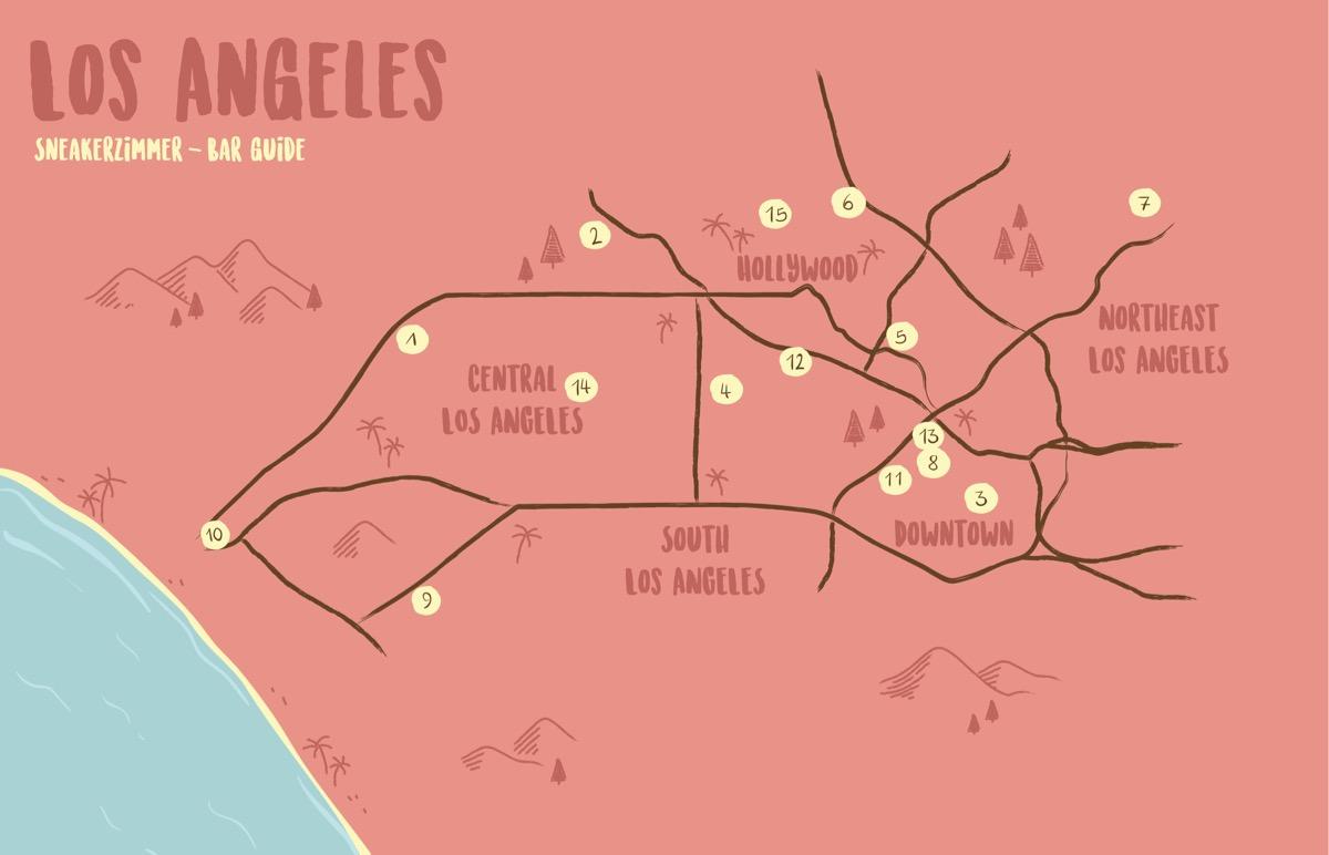 LA Landkarte